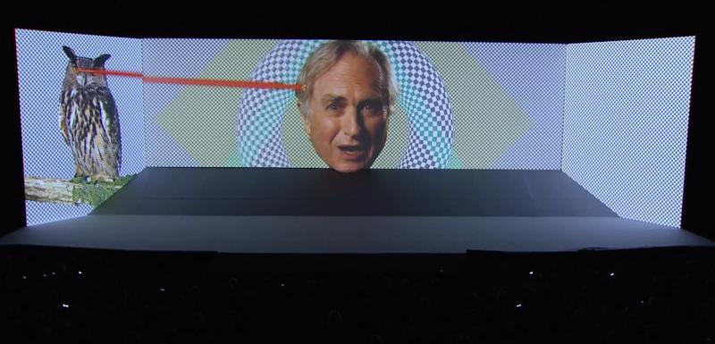 Illustration for article titled Richard Dawkins eszelős előadása az internet maga