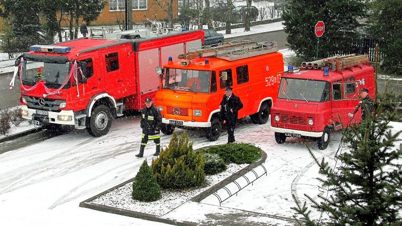 Illustration for article titled The Worst Fire Engines