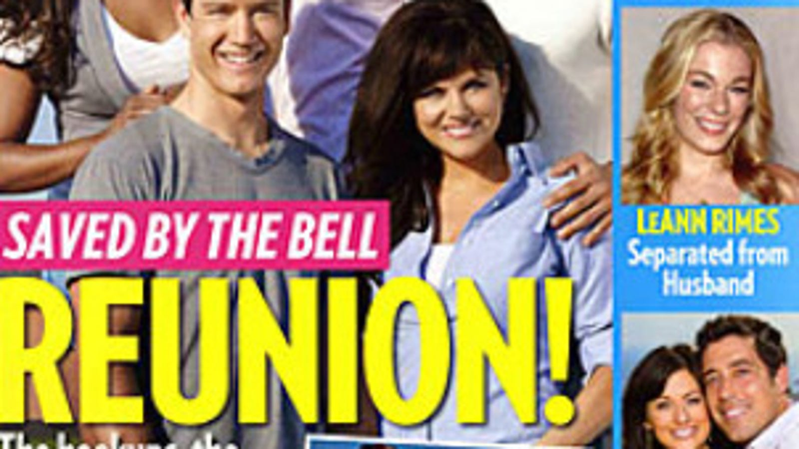HQ SBTB People Magazine Reunion - Saved by the Bell Photo ... |Saved By The Bell Reunion People Magazine