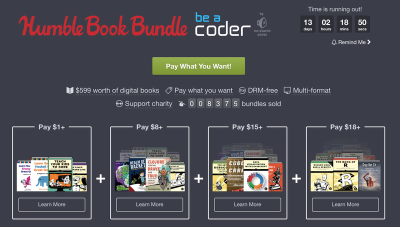 Humble Be a Coder Bundle