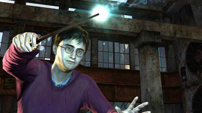 Screenshot: Harry Potter And The Deathly Hallows: Part 1/EA