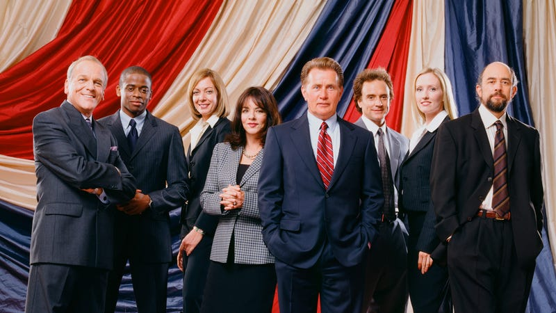 Aaron sorkin would reboot the west wing with sterling k - The west wing ...