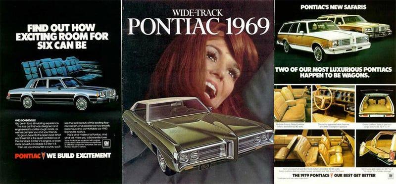 Classic Pontiac Print Ads - Classic car ads