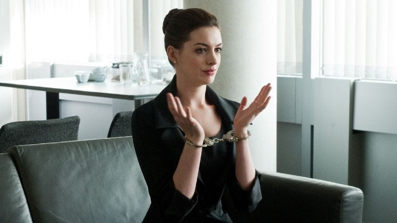 Illustration for article titled Anne Hathaway will probably be doing something in Christopher Nolan's Interstellar