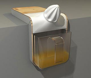 Illustration for article titled Juicer Hugs Countertops, But Look Out!