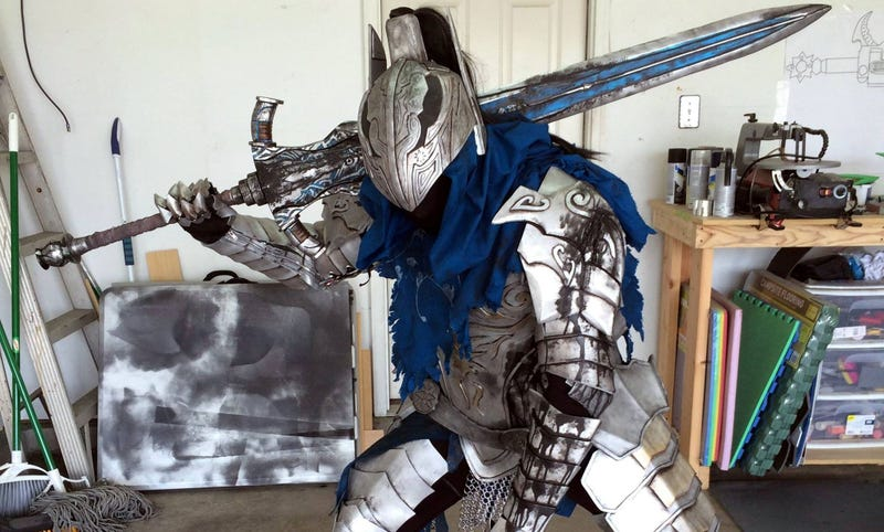 Illustration for article titled Yes, MoreDark Souls Cosplay, Please