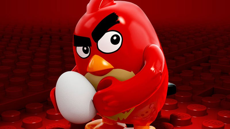 Illustration for article titled So That's What A LEGO Angry Bird Looks Like