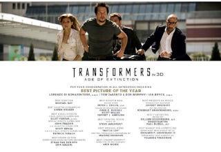 Illustration for article titled Paramount Thinks Transformers 4 May Be The Best Picture Of The Year