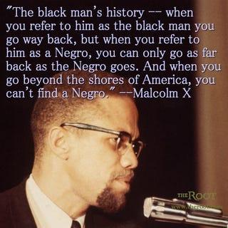 Malcolm X (Bob Parent/Getty Images)