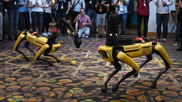 Boston Dynamics Will Sell Robot Arm to Go With Its Robot Dog Next Year, Which Is Totally Fine
