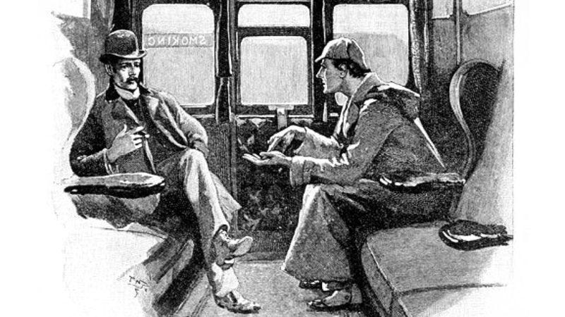 Illustration for article titled Sherlock Holmes