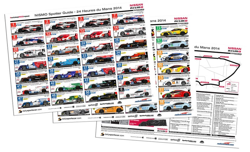 Illustration for article titled NISMO 24 Hours of Le Mans Spotter Guide live and updated (again)!