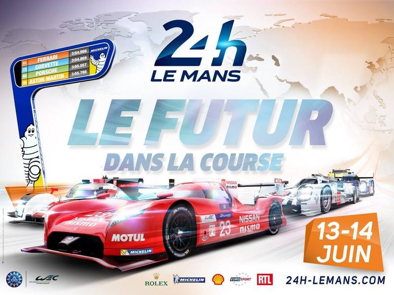 Illustration for article titled Le Mans '15: 14 LMP1s, 20 LMP2s, no Viper