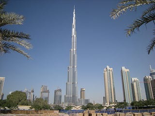 Illustration for article titled World's Tallest Building Burj Khalifa Gets Shut Down