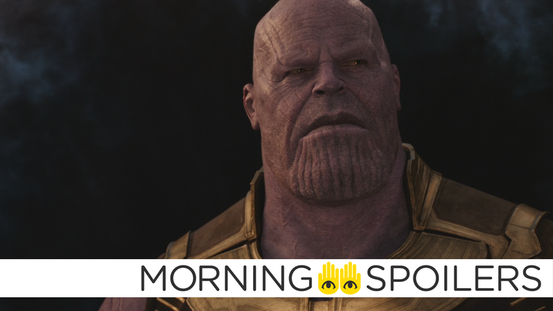 Illustration for article titled Kevin Feige Teases Thanos' First Big Moment in Avengers: Infinity War
