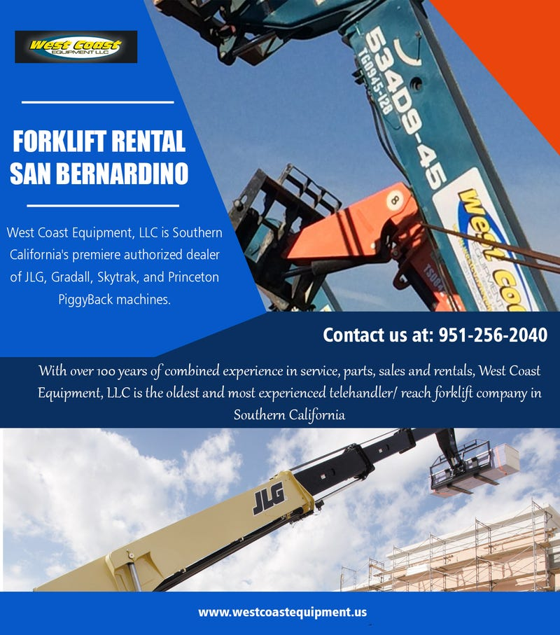 Illustration for article titled Forklift Rental San Bernardino||westcoastequipment.us||1-9512562040