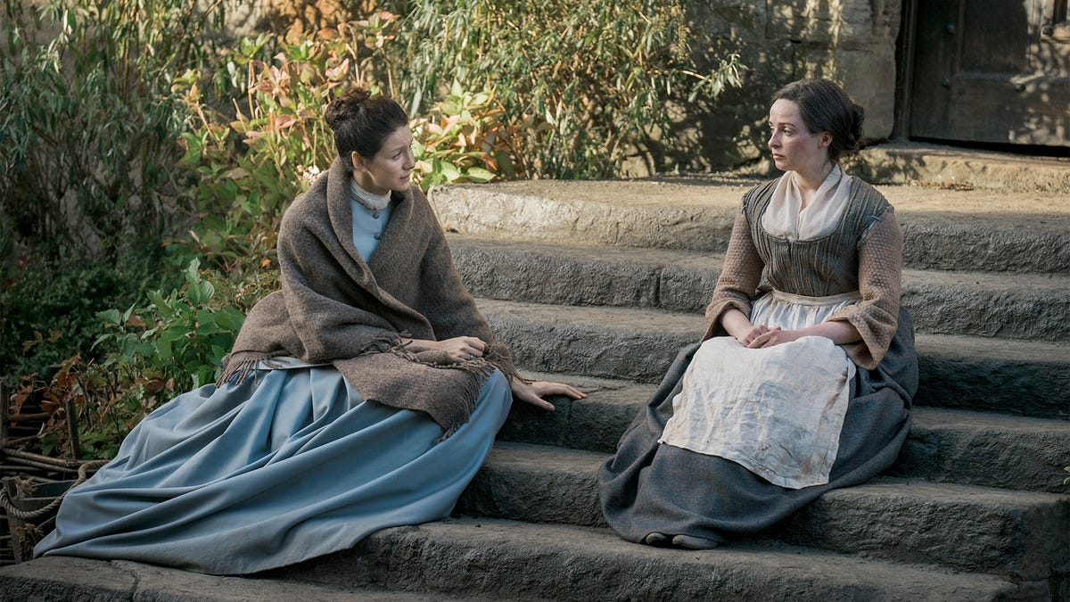 Jenny Fraser Murray is the only person with any good sense on Outlander