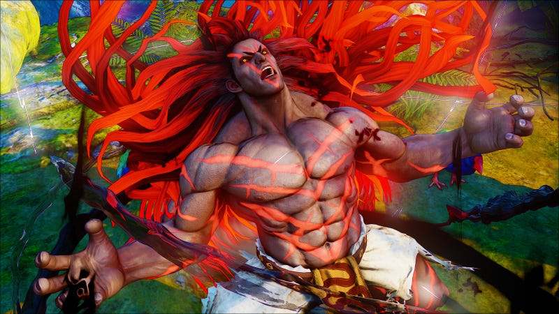 Illustration for article titled Brand New Street Fighter Character Shown Off At EVO