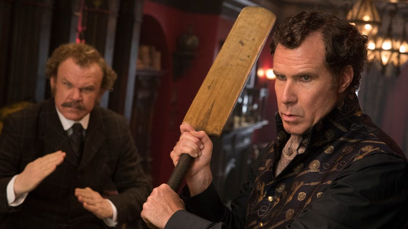 Illustration for article titled Will Ferrell and John C. Reilly hit career lows in the abysmally unfunny Holmes & Watson