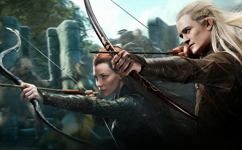 How Desolation Of Smaug Adds Elves Who Don T Appear In The