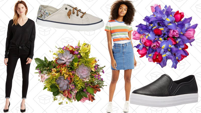 Illustration for article titled Today's Best Lifestyle Deals: The Bouqs, Skechers, Levi's, Sperry, and More