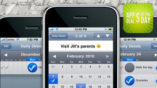 Illustration for article titled Daily App Deals: Tackle Everyday Tasks with Daily Deeds for iPhone, Now Free
