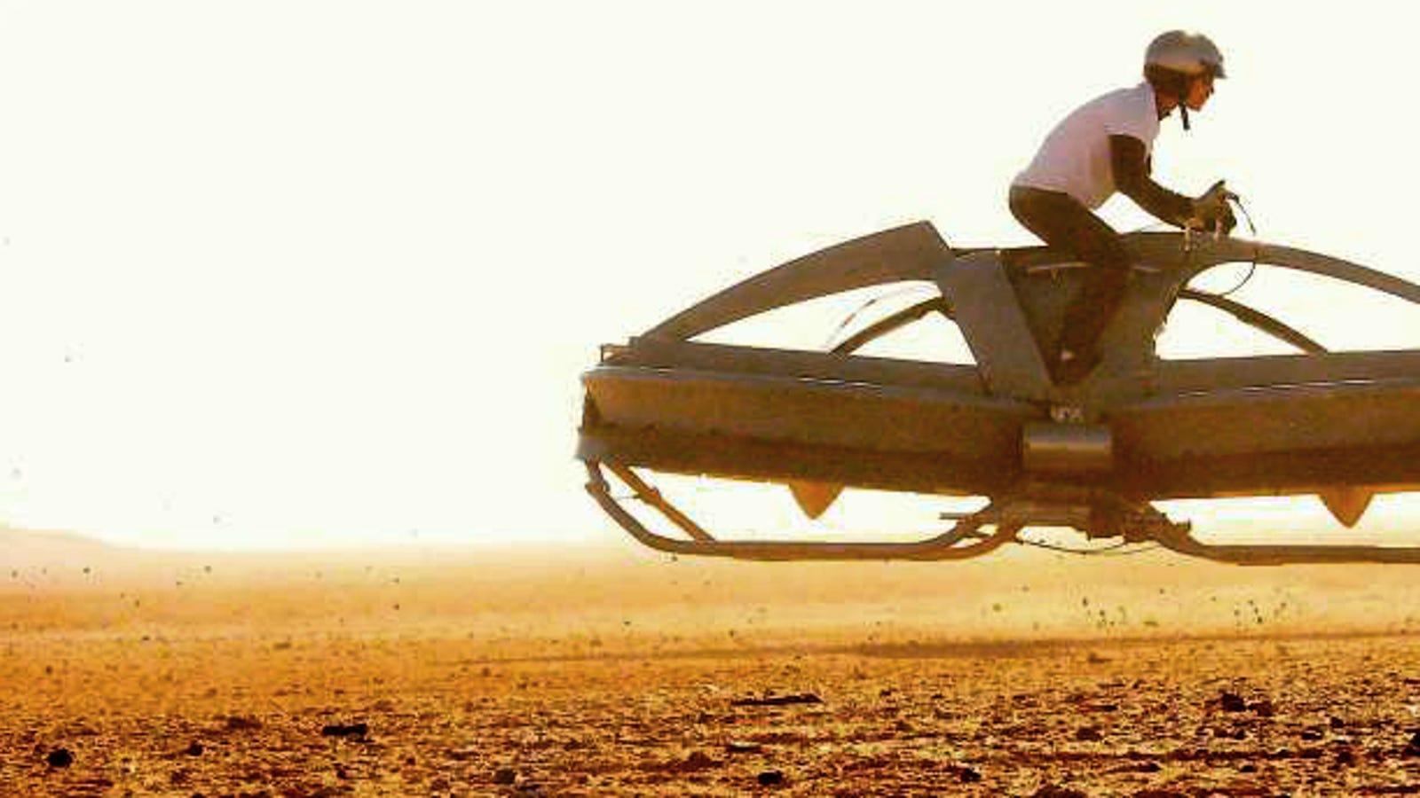 Esta potente moto voladora ya se puede reservar por 5.000 dólares