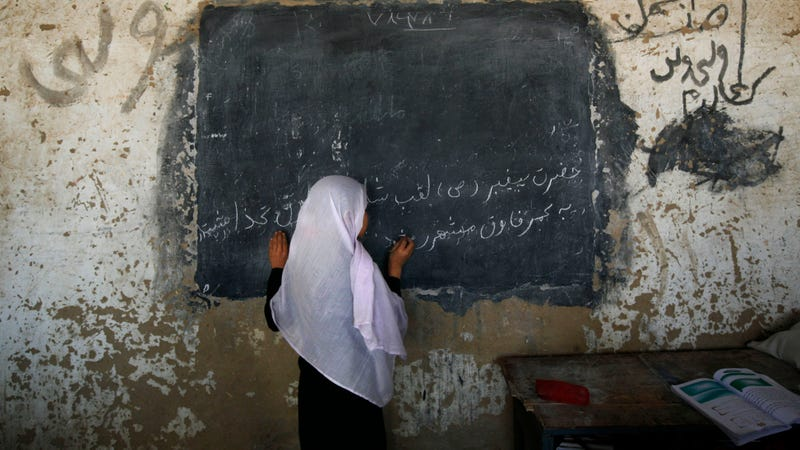 Illustration for article titled 74 Afghan Schoolgirls Were Likely Poisoned Because They Want to Learn