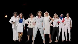 Leslie Jones, Halsey, Aidy Bryant, Kate McKinnon, Cecily Strong, Heidi Gardner, Ego Nwodim, Melissa Villaseñor