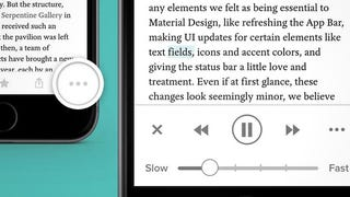 Illustration for article titled Pocket on iOS Finally Lets You Listen to Articles with Text-to-Speech