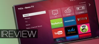 Illustration for article titled TCL Roku TV Review: A Decent Smart TV for a Great Price