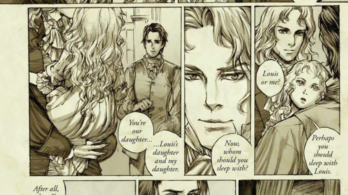 Anne Rice confirms that the vampires Louis and Lestat are a same-sex