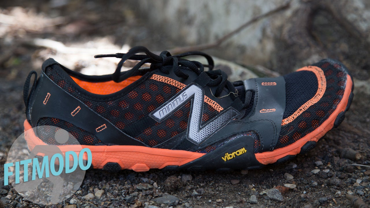 Orange And Black Trail Shoes