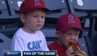 Illustration for article titled Baseball Children Owned So Hard By Food
