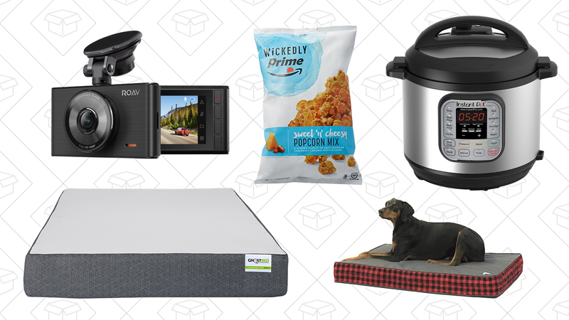 Illustration for article titled Monday's Top Deals: Instant Pot, Anker DashCam, Discounted Mattresses, and More