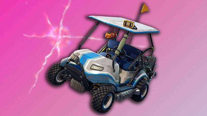 Illustration for article titled Looks Like Fortnite Is Getting Kart Cosmetics