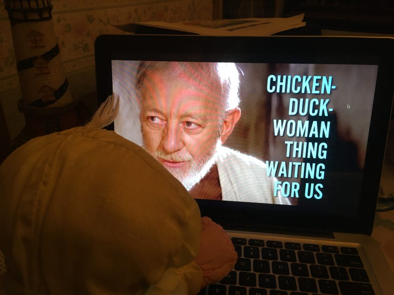 Illustration for article titled When you leave Rally Chicken alone with your laptop