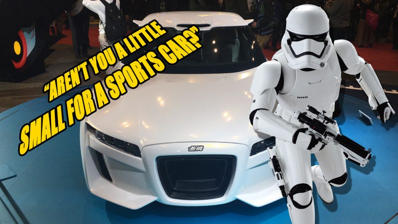 Illustration for article titled The Mugen Honda S660 Is The Stormtrooper's Kei Car