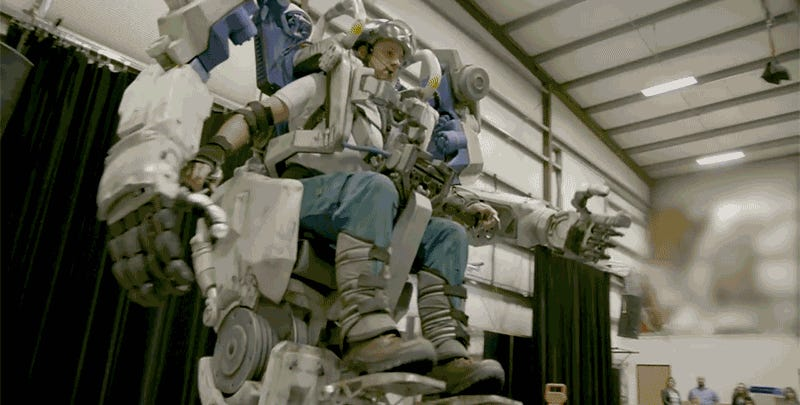 These Real-Life Walking Mech Suits Are Finally a Reason to Visit Disney's Avatar World