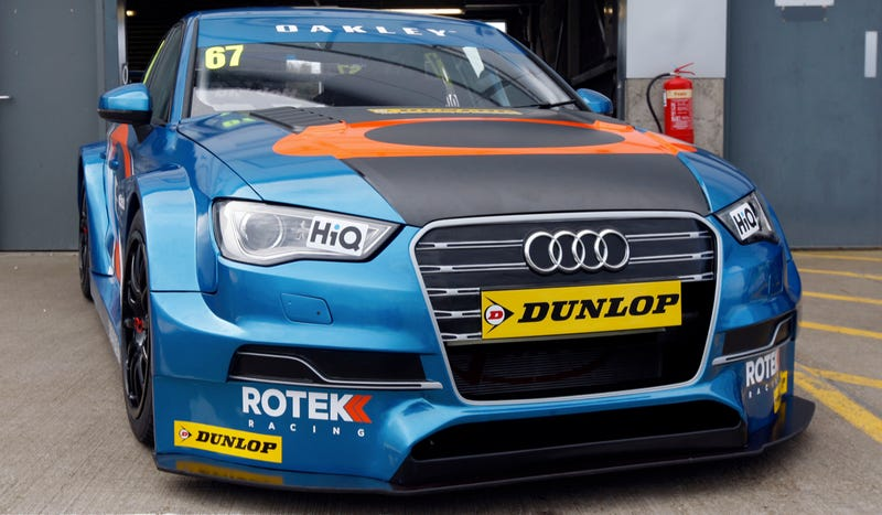 Illustration for article titled The Audi S3 Is All Dressed Up For British Touring Car Championship
