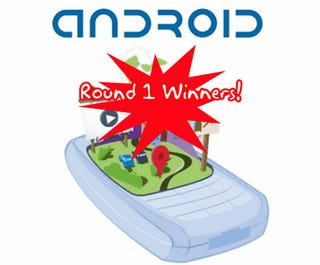 Illustration for article titled The Top 5 Android Developer Challenge Round 1 Winners