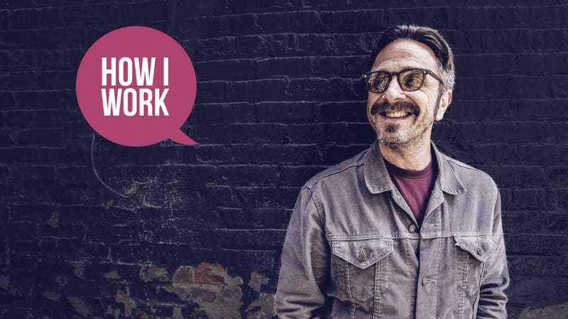 Illustration for article titled I'm Comedian and Podcaster Marc Maron, and This Is How I Work
