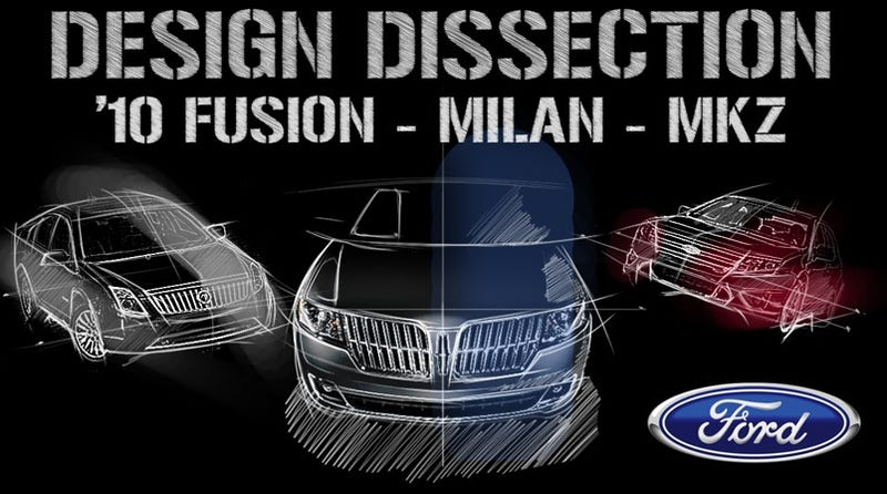 Illustration for article titled 2010 Ford Fusion, Mercury Milan, Lincoln MKZ: Design, Dissected