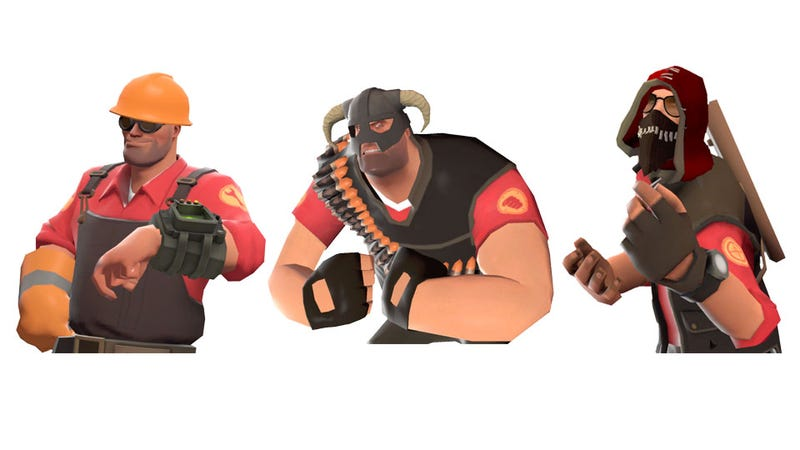 Illustration for article titled Team Fortress 2 Secretly Teams Up with Fallout, Quake & Elder Scrolls