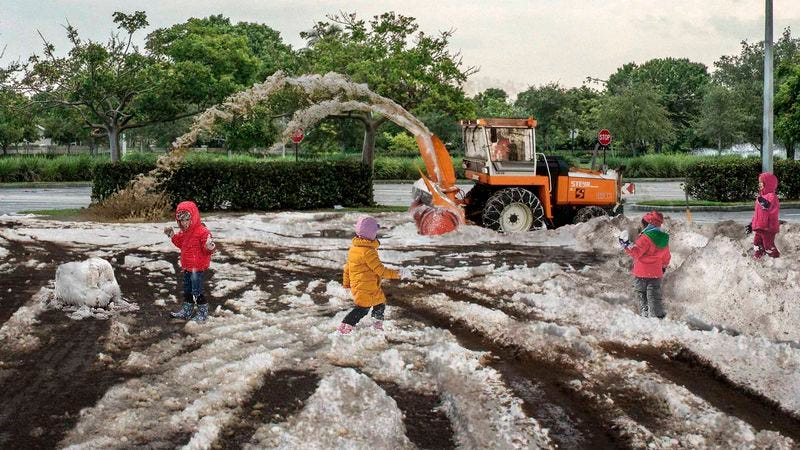 Illustration for article titled Dirty Slush Machine Provides Children In Florida Taste Of Winter