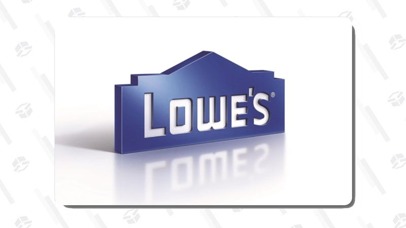 $115 Lowe's Gift Card | $100 | Swych | Promo code Honor18