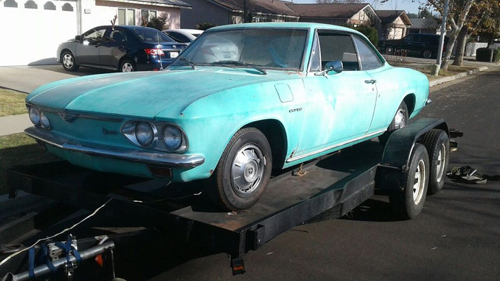 Tom Clark Chevy >> I M Fixing Up This Chevy Corvair And Making Up Its Racing History As