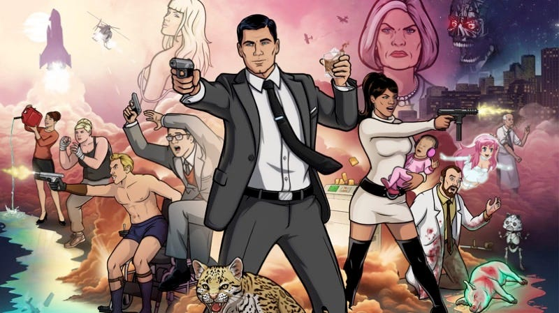 Illustration for article titled The Art of Archer Peeks Into the Coolest, Booziest Superspy Show on TV