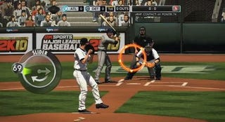 Illustration for article titled 2K10's Pitching and Hitting 101