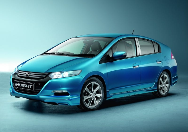 Illustration for article titled Honda Insight Gets Tacky With Euro Accessories